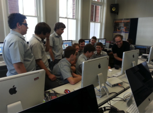 Hyperscore workshop at Perth Modern School
