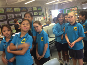 Hyperscore composers at  Churchlands Primary School